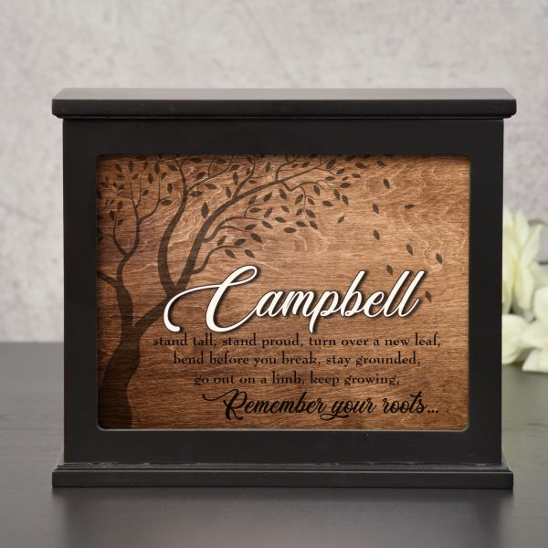 Remember Your Roots Personalized Light Box Familly Gift